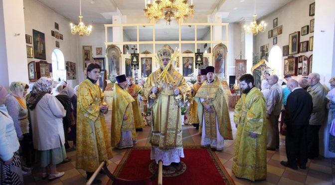 Литургия в Петро-Павловском храме