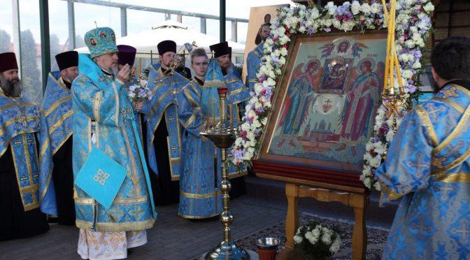 Всенощное бдение в Свято-Духовом монастыре