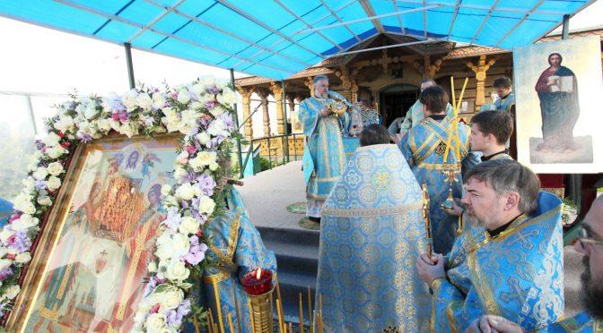 Литургия в Свято-Духовом монастыре