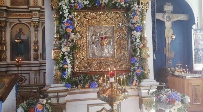 Храмовый праздник в Лудзе