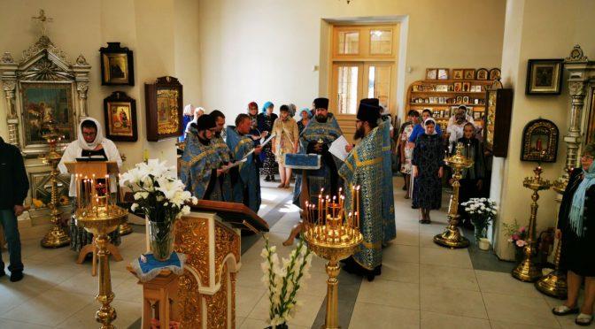 Соборный молебен о недужных Всецарице в Резекне