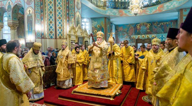 Торжества по случаю 80-летия Митрополита Рижского и всея Латвии Александра