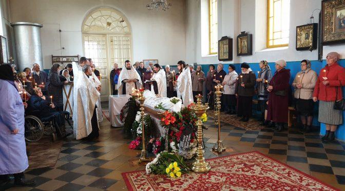 Отпевание иерея Евгения Дроздова