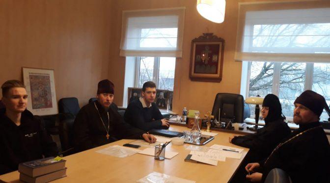 Итоговое собрание отдела по работе с молодежью
