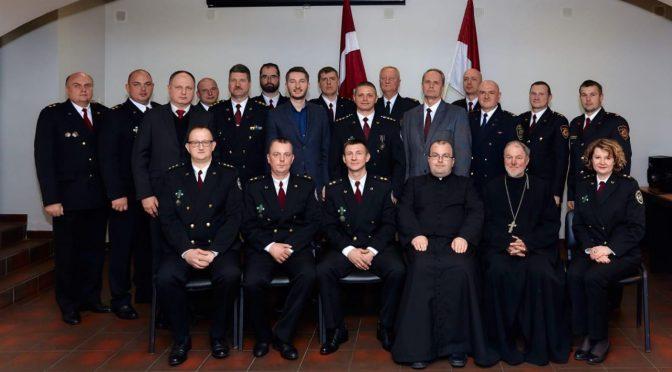 Поздравление с 25-летием создания Полиции самоуправления города Даугавпилса