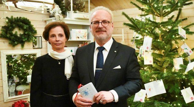 Поздравление Президента Латвии Эгила Левита с Рождеством Христовым