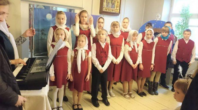 Рождественский утренник в Краславе