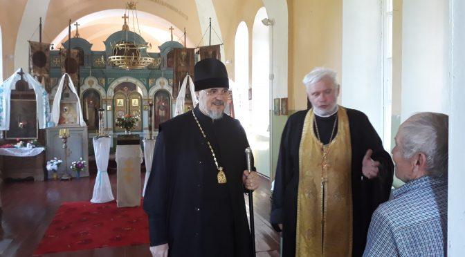 Комиссия по сохранению православного наследия посетила приходы Даугавпилсского благочиния