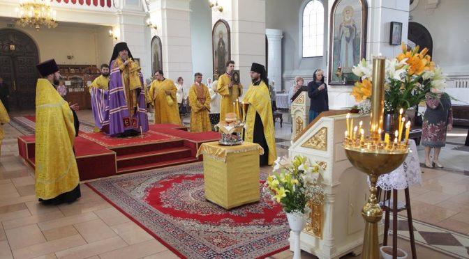 Всенощное бдение накануне дня памяти святых апостолов Петра и Павла