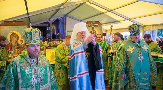 Божественная литургия в день памяти преподобного Сергия Радонежского