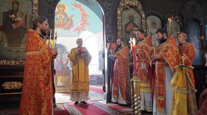 Храмовый праздник Борисо-Глебского собора