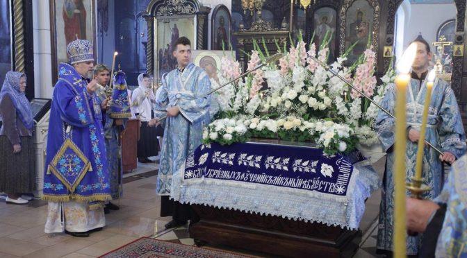 Чин погребения Пресвятой Богородицы в Борисо-Глебском соборе