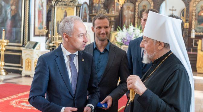 Визит министра юстиции Латвии в Даугавпилсско-Резекненскую епархию
