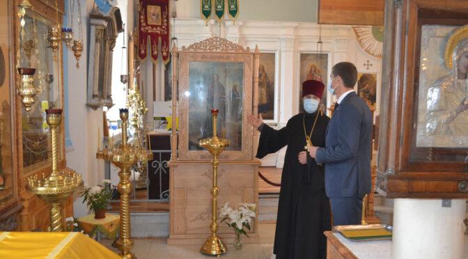 Представитель Министерства юстиции Латвийской Республики посетил Мадонский православный храм