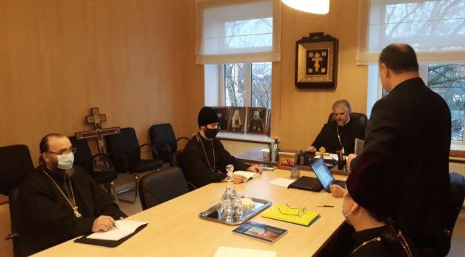 Зимняя сессия  Епархиального совета в Даугавпилсе