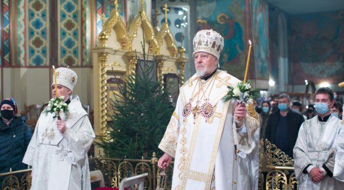 Всенощное бдение в канун Рождества Христова в Рижском Кафедральном соборе