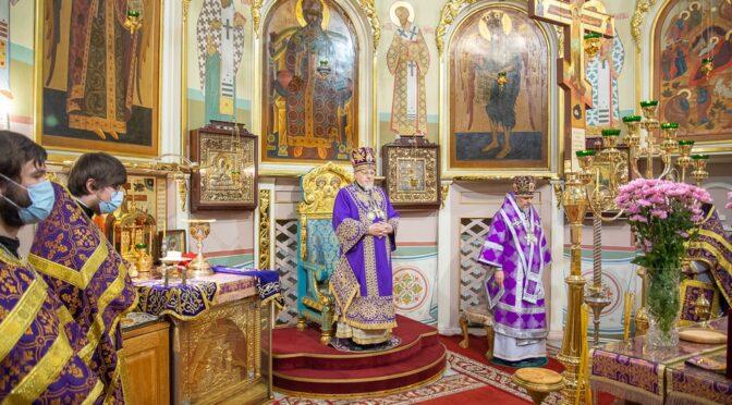 Божественная литургия в Рижском Кафедральном соборе