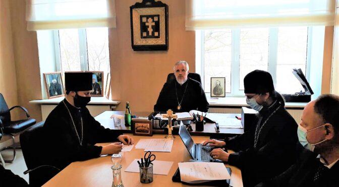 Весенняя сессия Епархиального совета в Даугавпилсе