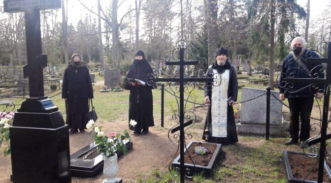 Богослужение в день явления нетленных останков илукстского архимандрита Иосифа (Новицкого)