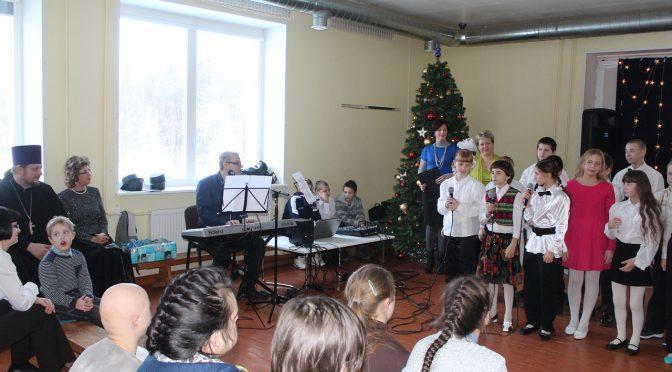 Рождественский утренник в Малтской школе-интернате