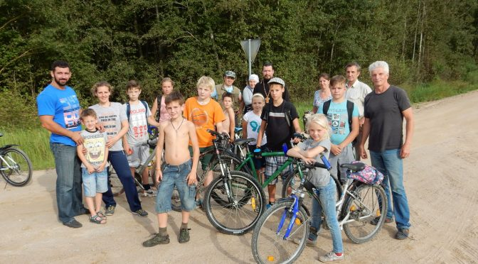 Велопаломничество в Липушки