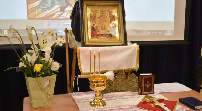 Молебен на окончание учебного года в епархиальной воскресной школе