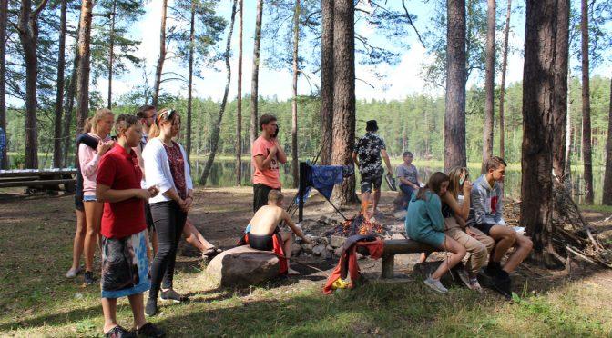 Восьмой день слёта православной молодежи в Старой Слободе