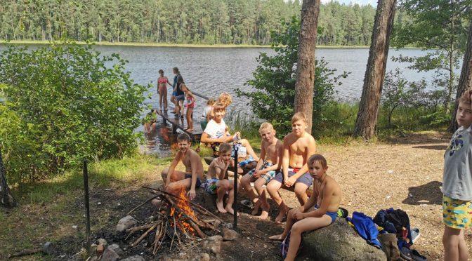 Третий день Резекненско-Старослободского детского лагеря