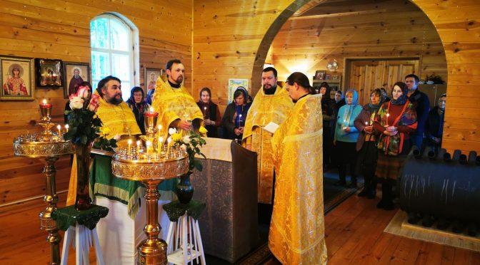 Богослужения в память об иеромонахе Мелитоне