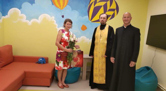 Освящение центра социальных услуг в Лудзе