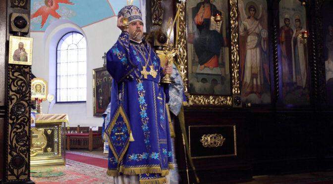 Божественная литургия в Даугавпилсе
