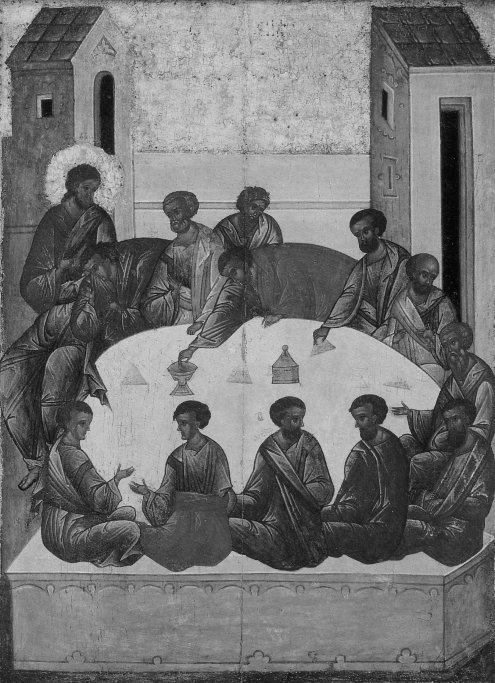 Икона «Тайная вечеря» преподобного Андрея Рублёва