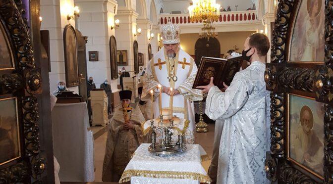 Богослужение Великой Субботы в Борисоглебском соборе