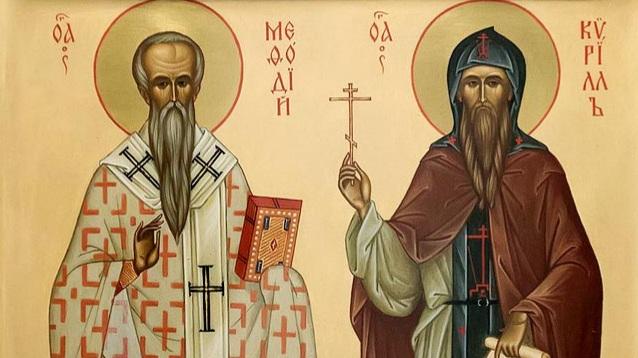 В храмах епархии совершены богослужения в день памяти святых равноапостольных Мефодия и Кирилла, учителей словенских