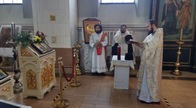 Молебен в день памяти святых Кирилла и Мефодия