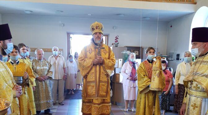 Литургия в Петро-Павловском храме города Даугавпилс