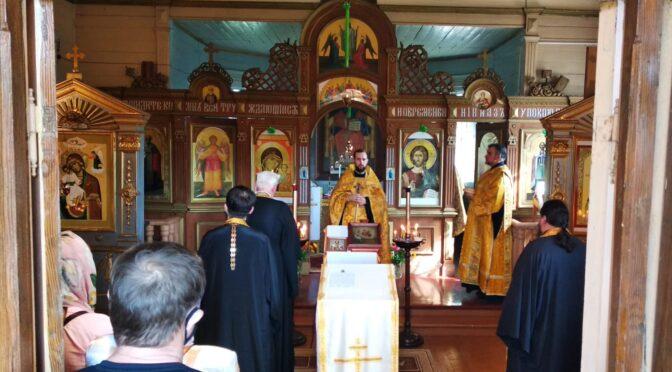 Богослужения в Даугавпилсе по случаю 800-летия благоверного великого князя Александра Невского